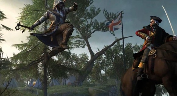 Connor Kenway in action