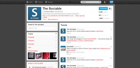 Twitter's latest design