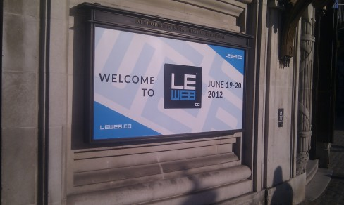 LeWeb, London 2012