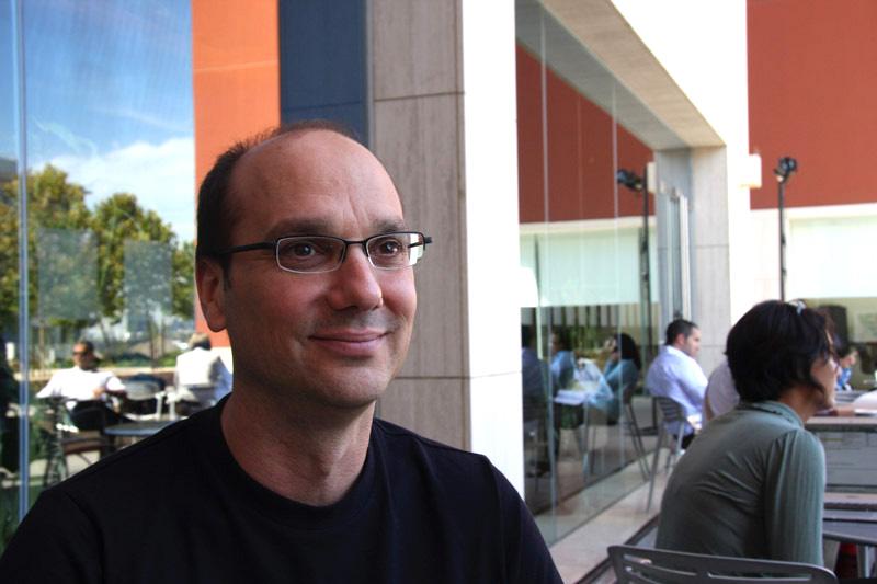 Andy Rubin - Google's senior vice president of mobile