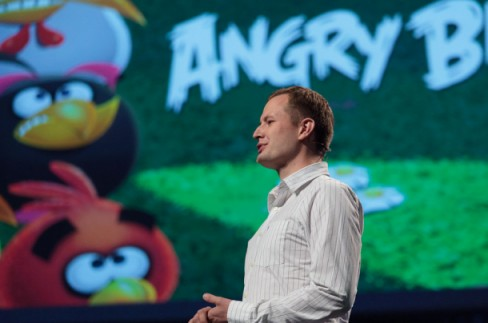 Angry Birds chief executive Mikael Hed