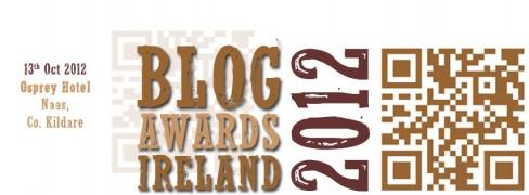 Blog Awards Ireland 2012