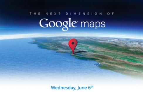 Google Maps 3D event invite