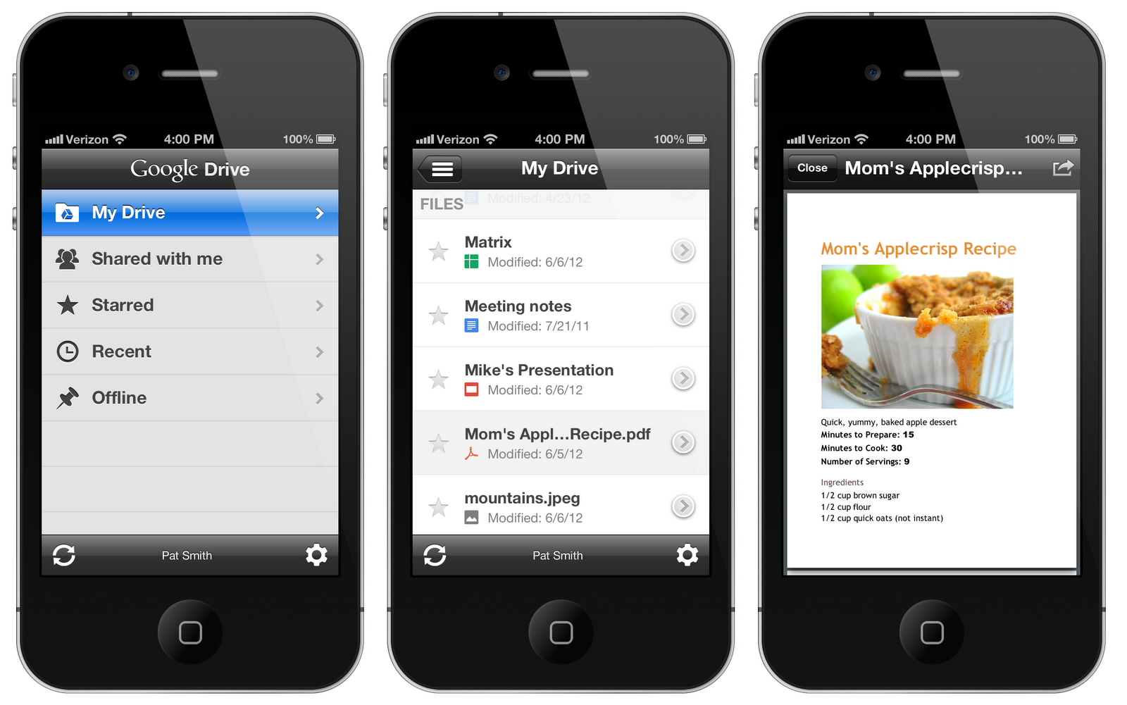Google Drive is available on iPhone, iPad and iPod Touch from today