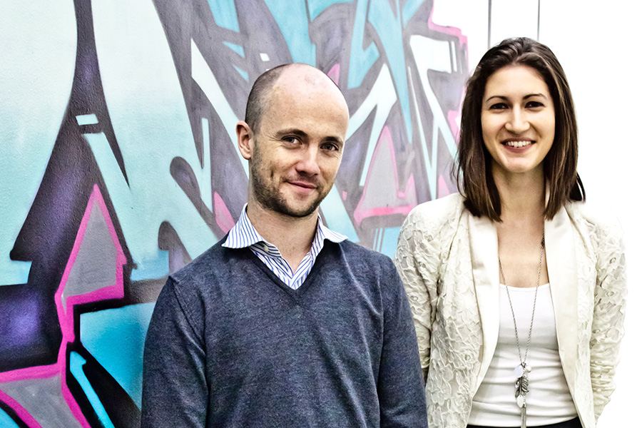Niall Harbison and Lauren Fisher