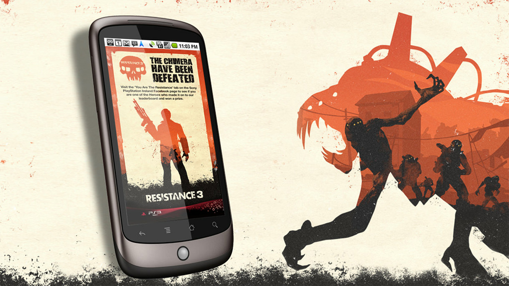 Sony Resistance 3 Promotion