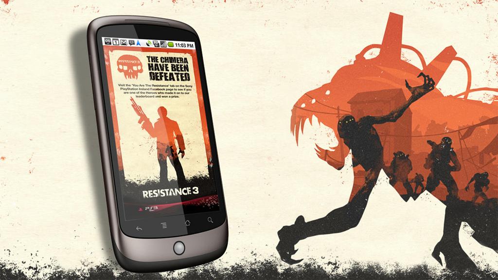 Sony Resistance 3 Promotion