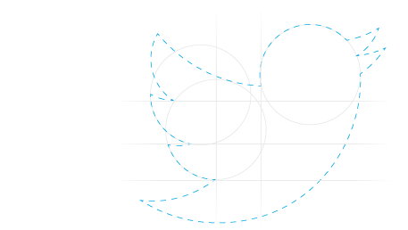 Twitter's new bird logo