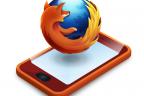Firefox smartphone OS