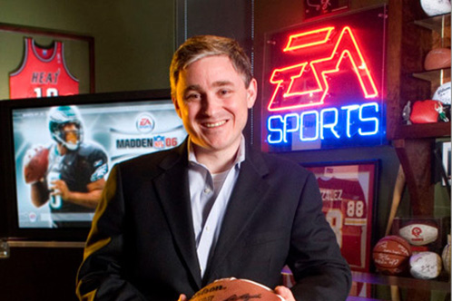 Frank Gibeau, president of EA Labels