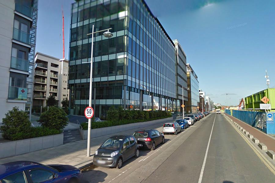 Ancestry.com's new international headquarters along Sir John Rogerson's Quay, Dublin