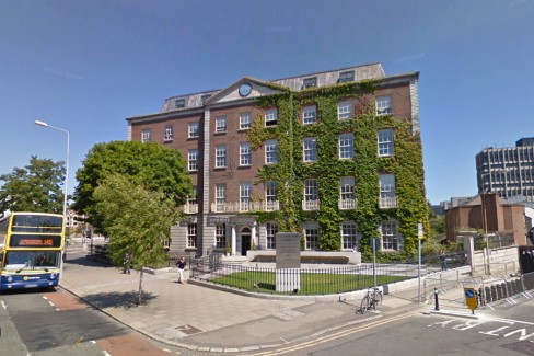 Twitter's rented Dublin offices on lower Lesson Street