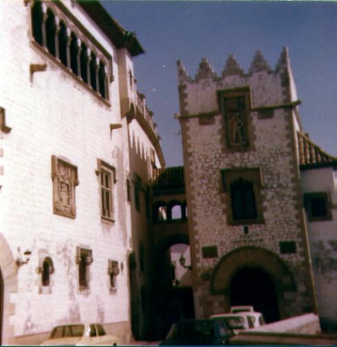 Palau Maricel Sitges 1978