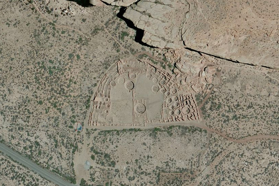 Chaco Culture National Historical Park, NM on Bing Maps