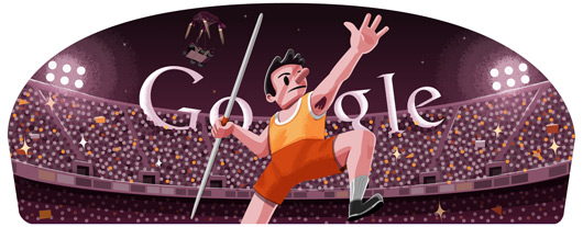 Google Olympic Javelin 2012