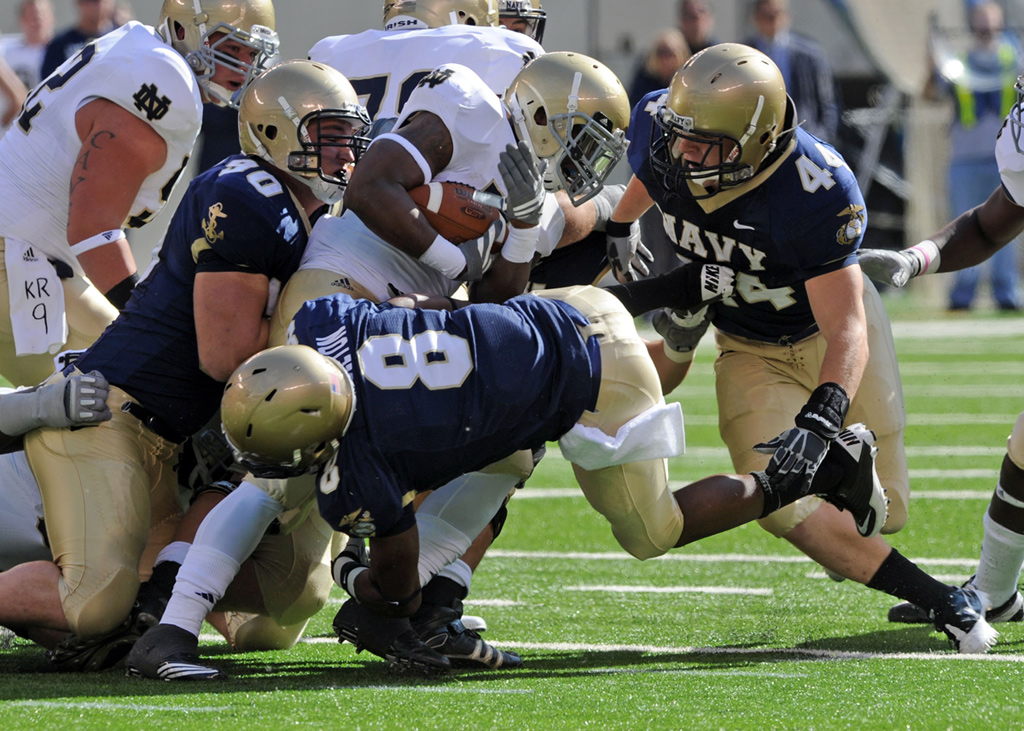 Navy vs. Notre Dame