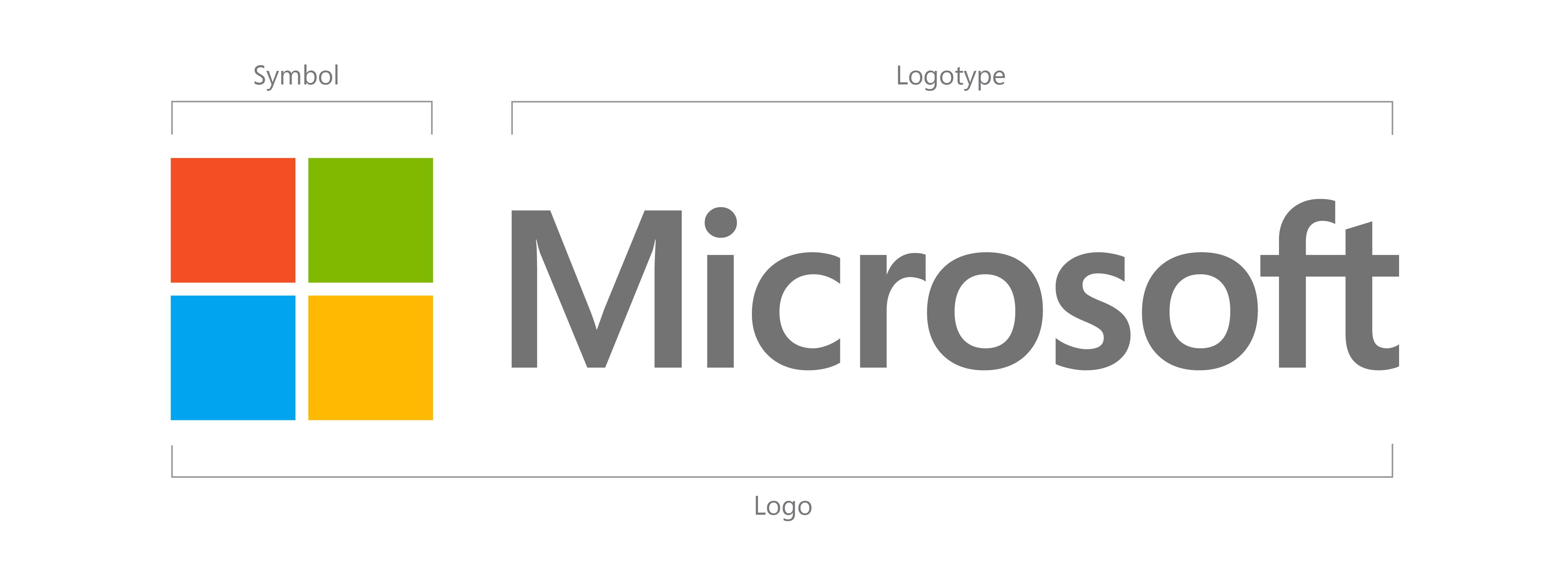 Microsoft's new logo 2012