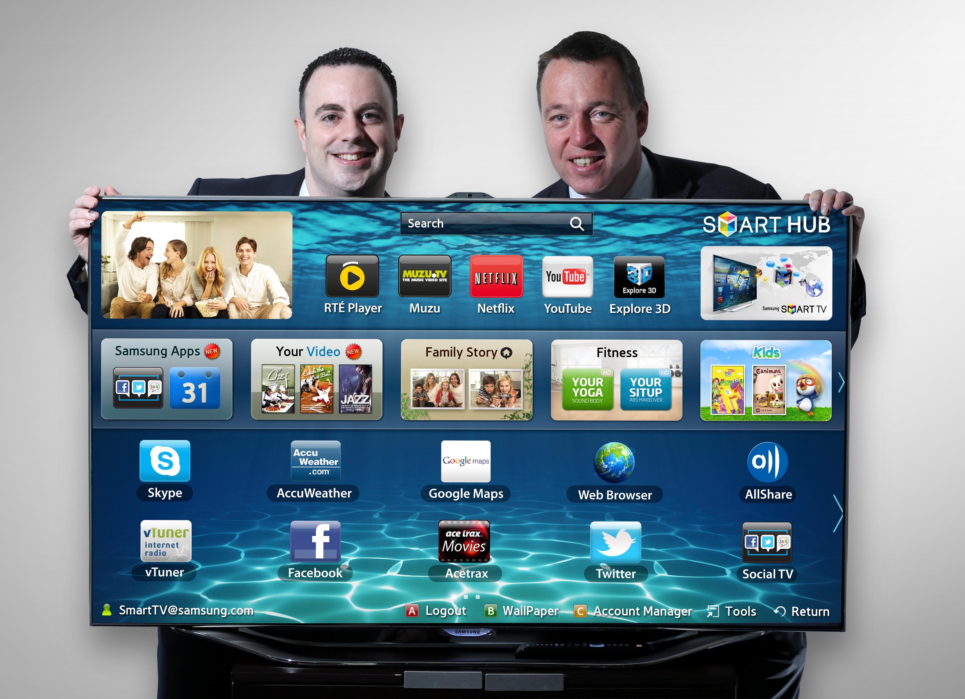 RTÉ Player on Samsung Smart TVs
