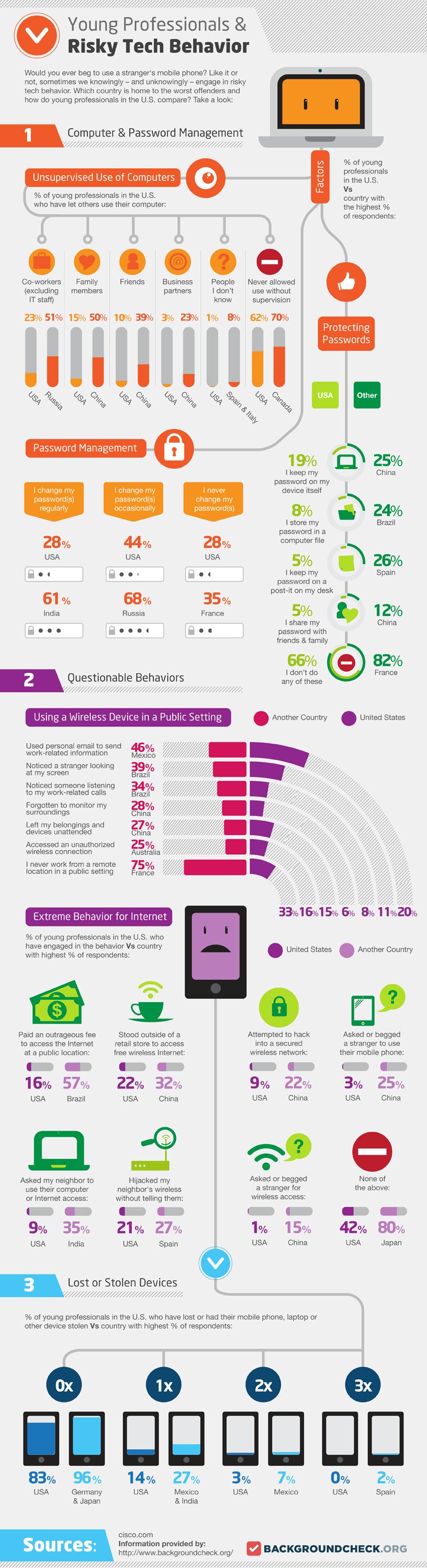 Young Professionals Risky Digital Behavior