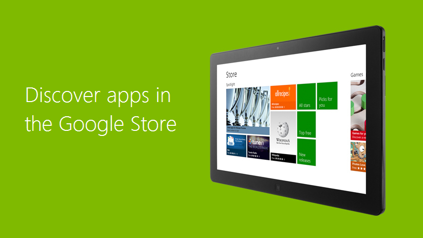 Android apps running on Windows 8