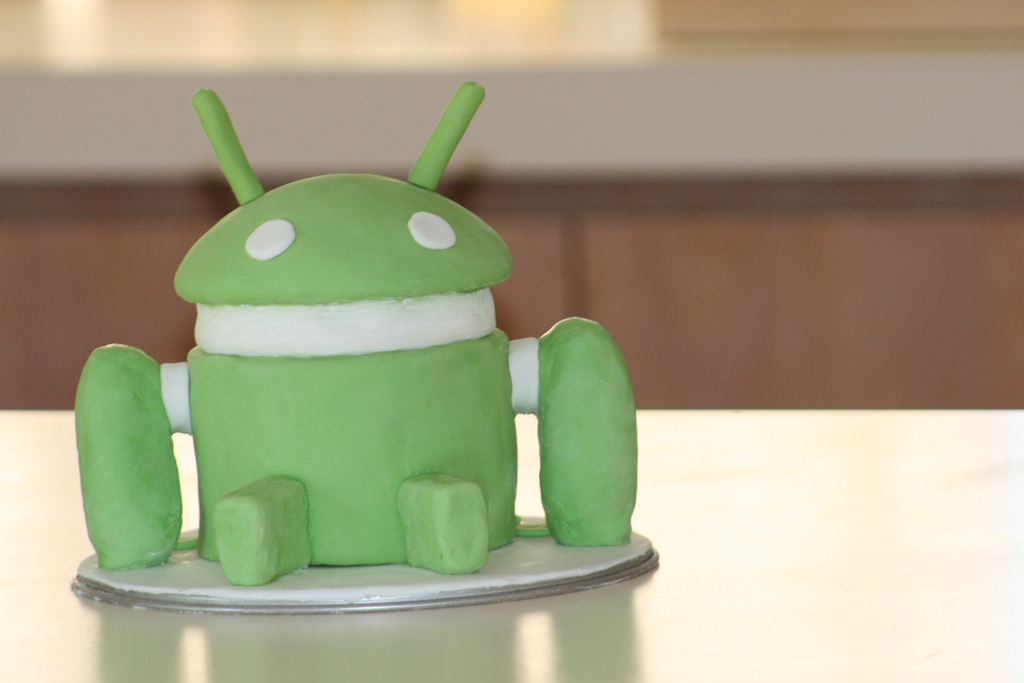 Hmm, Android cake