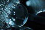 Fibre Optic cables and world - BigStock