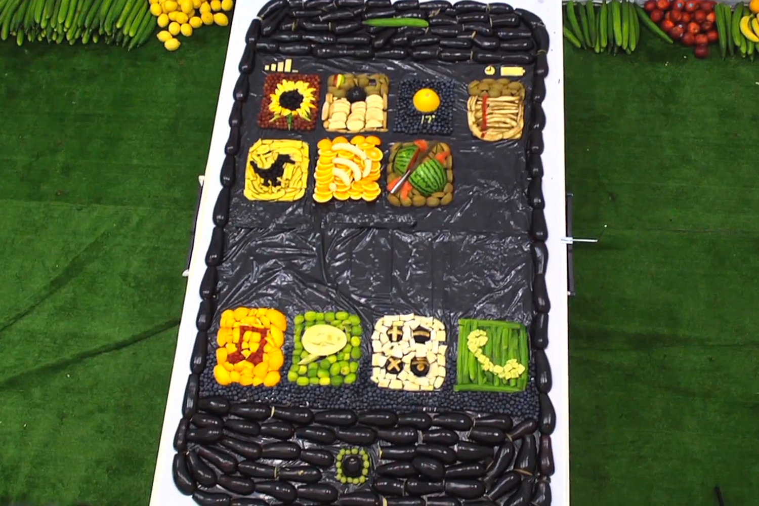 iPhone 5 made from fruit