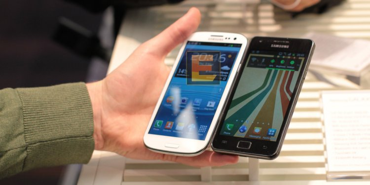 Samsung Galaxy S3 vs S2