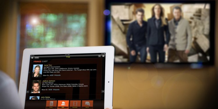 Second-screen TV usage on the rise