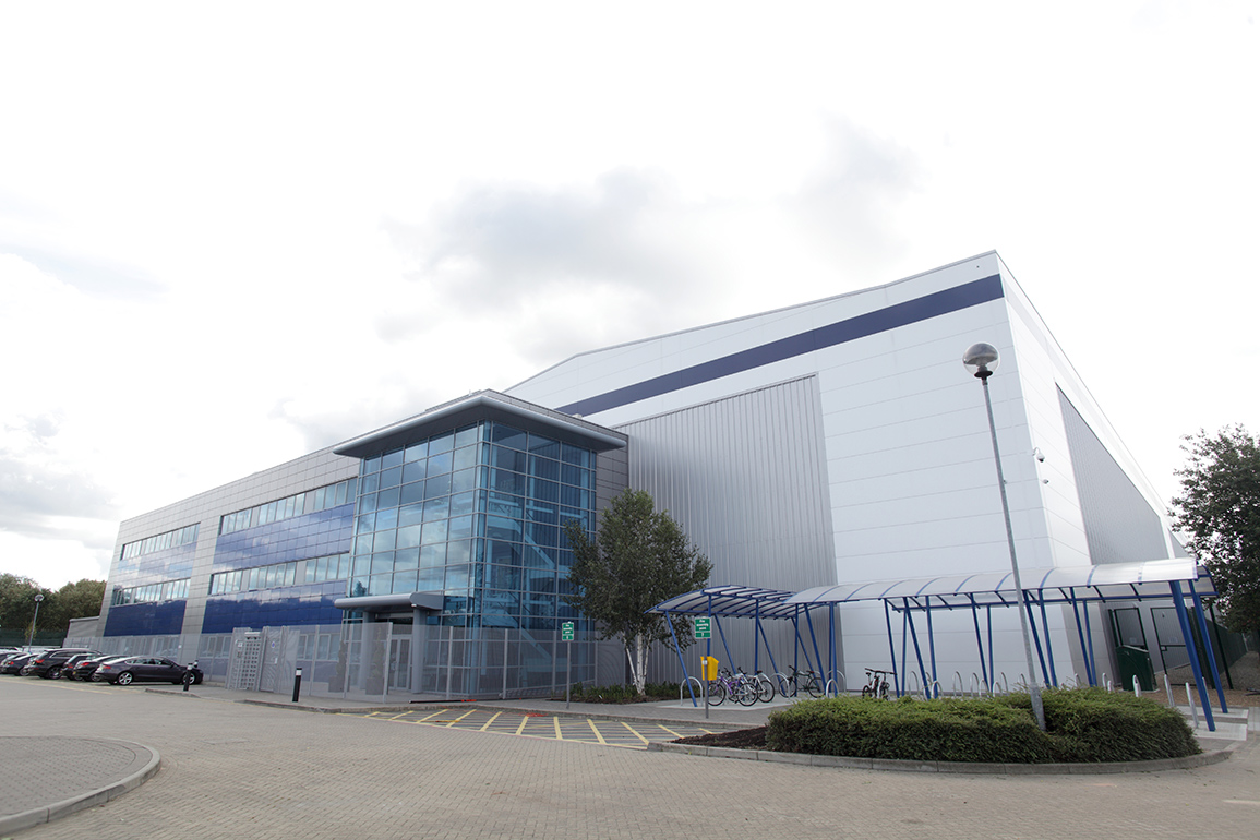 Sony's newly rebuilt distribution centre at Enfield, London