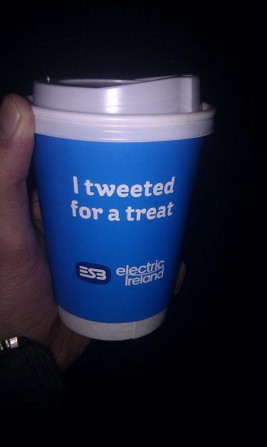 Electric Ireland Tweet for a treat Twitter Café