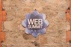 Web Summit branding envelopes Dublin's RDS arena.