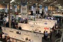 View of the Central Hub and Startup Village at the Dublin Web Summit.