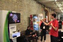 Microsoft Kinect demonstration.