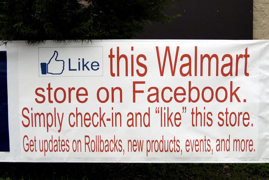 Like Walmart on Facebook