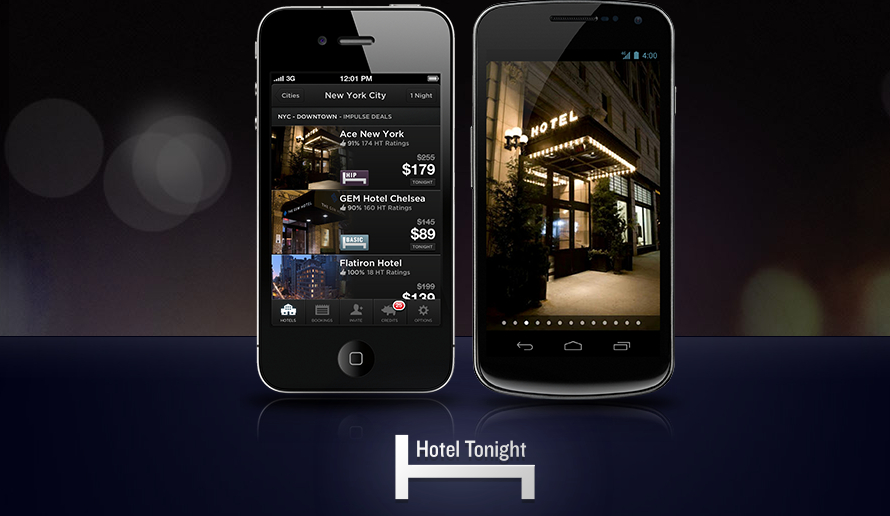 Hoteltonight apps