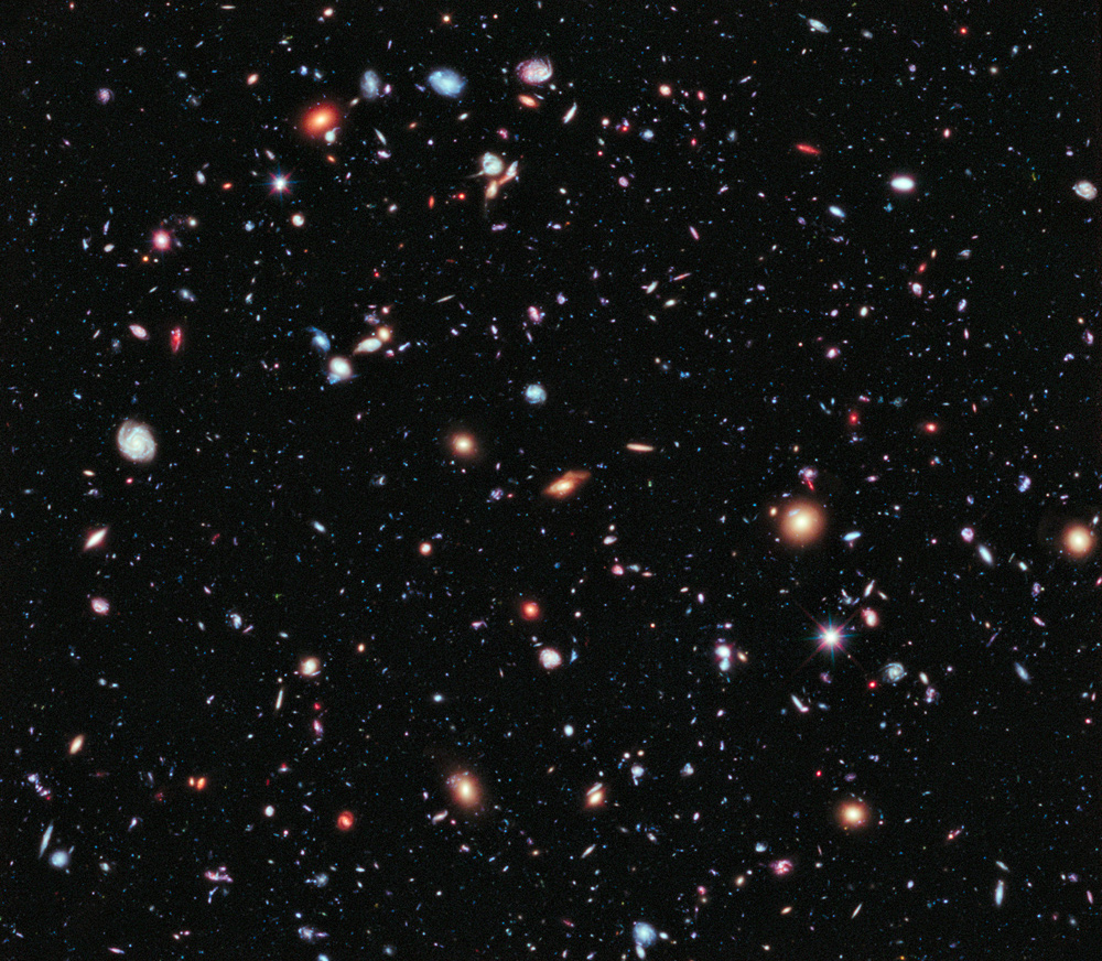 Farthest ever view of the universe