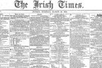 Irish Times first edition