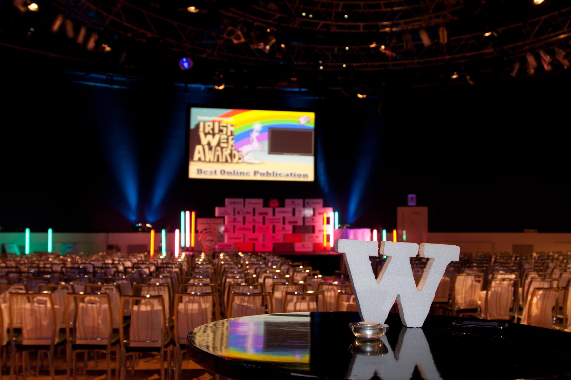 Irish Web Awards 2012 winners