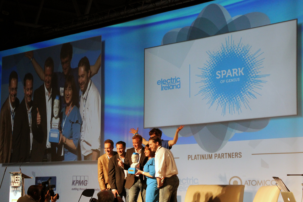 SmartThings - winners of the 2012 Dublin Web Summit Spark of Genius award