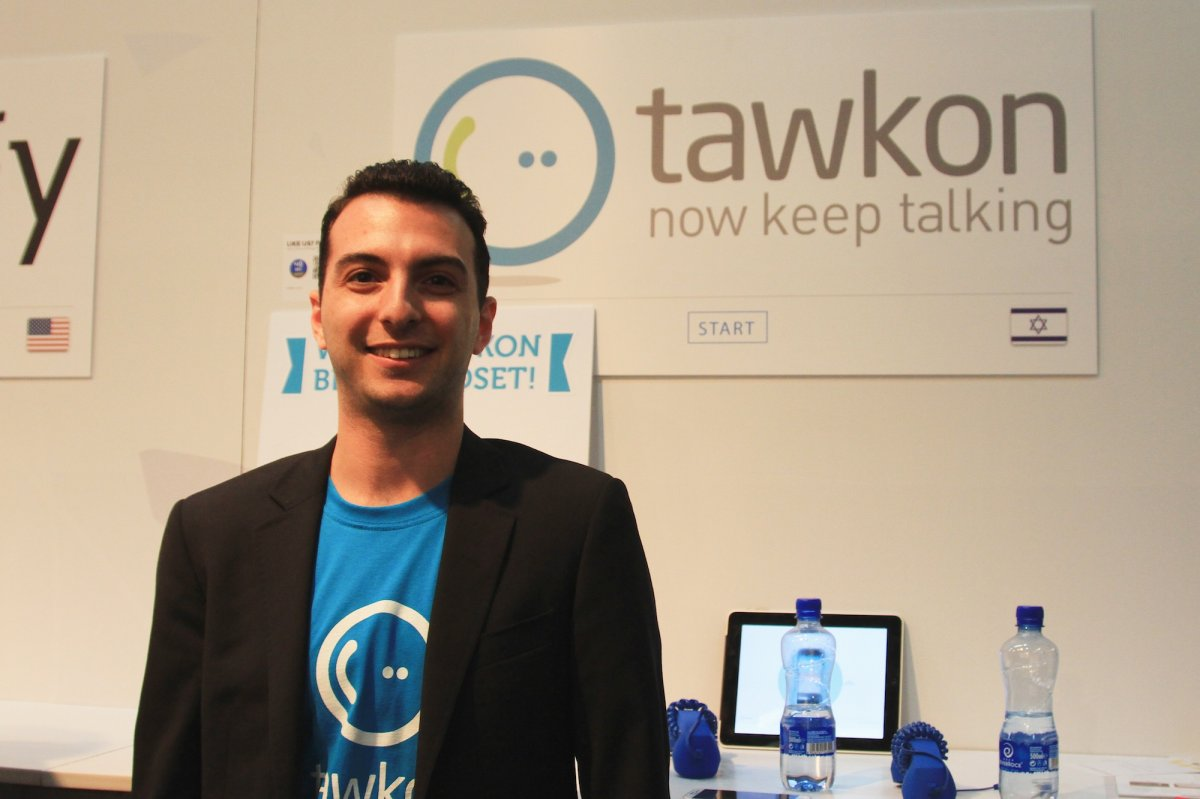Ori Goshen, co-founder and Vice President of Research and Development at Tawkon.