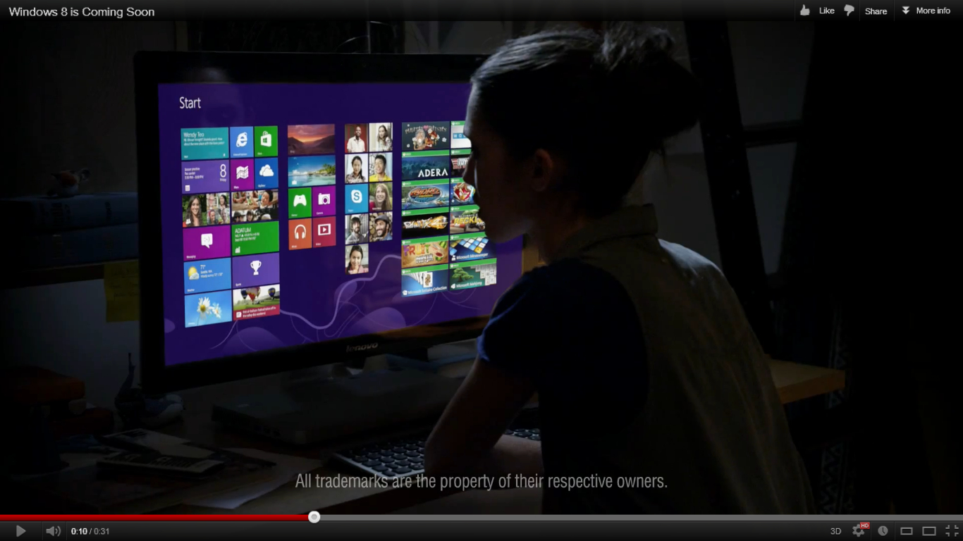Microsoft's Windows 8 commercial - does this make you want to upgrade?
