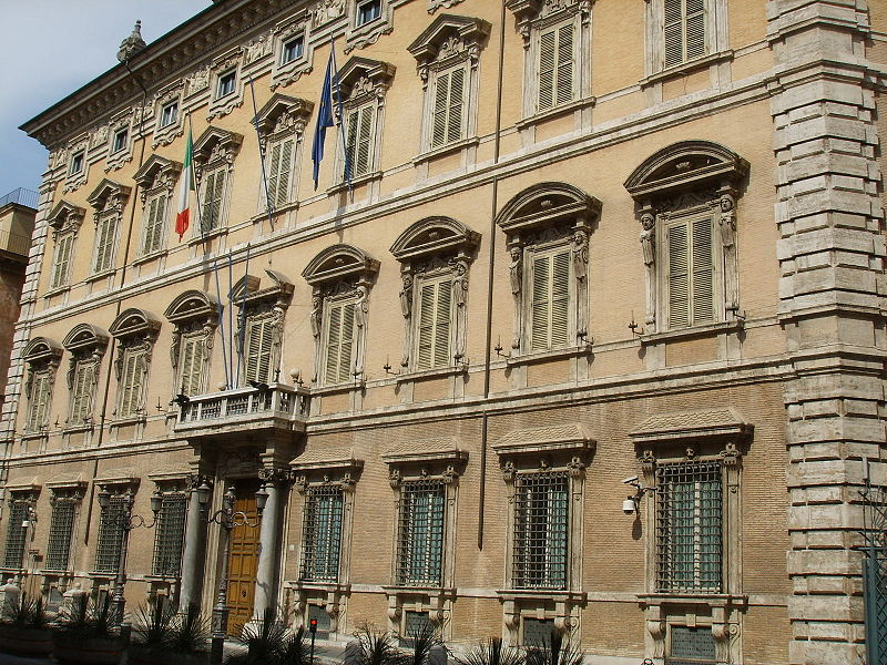 Palazzo Madama - Seat of Italy's Senate. Source Wikipedia