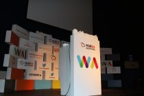 The 2012 Irish Web Awards stage