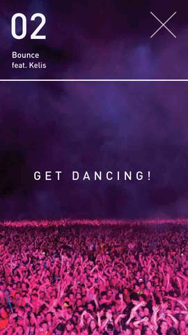 Calvin Harris Dance App