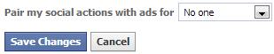 Facebook turn off sponsored stories
