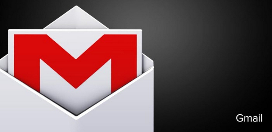 Gmail logo black