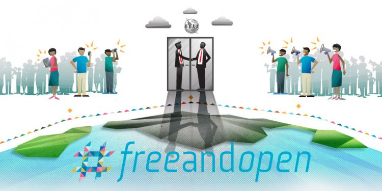 Google and ITU #freeandopen