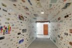 Google's Los Angeles' office Street view & doodle corridor in Venice Beach