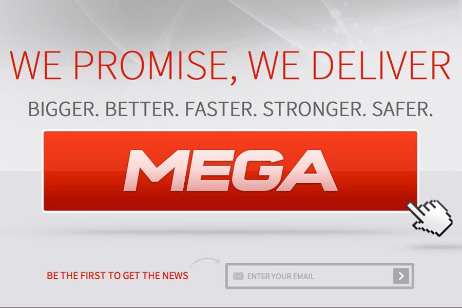 Mega's new logo